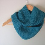 Teal Blue Infinity Loop by DottieQ